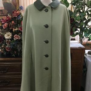 Vintage 1960's Princess Mod Capriel Cape Coat Wrap